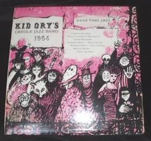 LP  33 1/3 Kid Ory's Creole Jazz Band 1956 Record