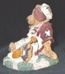 Boyds Homer on the Plate Boyds Bears Resin