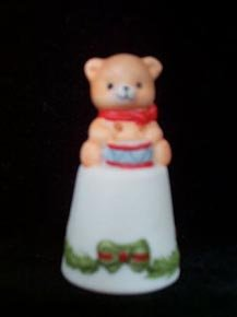 Thimble Christmas Bear