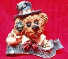Boyds Bears Pin - Uncle Elliott