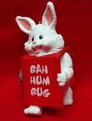 Billboard Bunny Hallmark Christmas Ornament