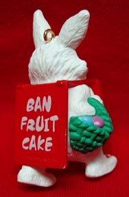Billboard Bunny Hallmark Christmas Ornament