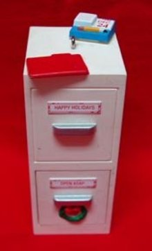 Open and Shut Holiday Hallmark Ornament