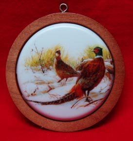 Hallmark Holiday Wildlife Ornament Ring-necked Pheasant