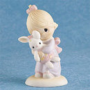 Precious Moments Jesus Loves Me Figurine