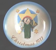 Hummel Plate Schmid Christmas 1977 Limited Edition