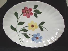 Platter Southern Potteries Hand-Painted