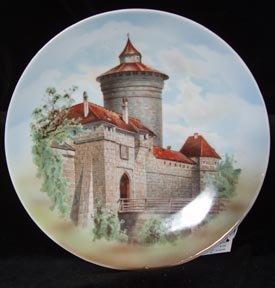 German Plate Old Nuremberg