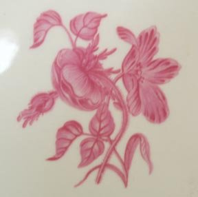 Queen's Ware Reproduction Salad Plate
