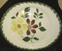 Blue Ridge Green Briar Platter