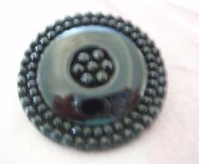 Buttons Black Glass