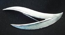 Trifari Feather Pin