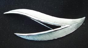 Trifari Feather Pin