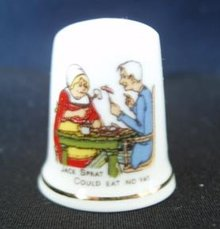 Thimble Nursery Rhyme Jack Sprat