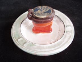 1930 World's Fair Toilet Ashtray