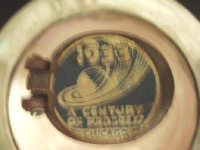 1930 World's Fair Toilet Ashtray