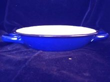 Graniteware Pan Handled Blue