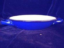 Graniteware Pan Handled Blue