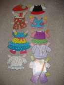 Nancy Sluggo Paper Dolls Cut