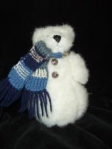 Boyds Bears Marvin Snow Bear