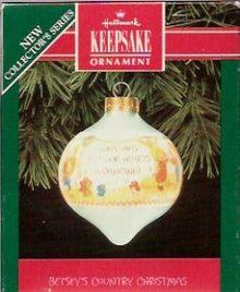 Hallmark Betsey's Country Christmas Ornament 1992