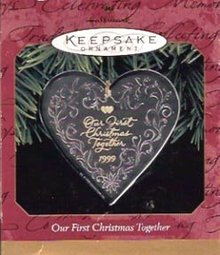 Hallmark First Christmas 1999  Ornament