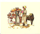 Rockwell Embossed Prints - Set of Four