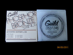 GUILD PHOSPHOR BRONZE ACOUSTIC GUITAR STRINGS .012-.053