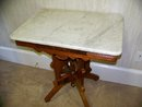 Rectangular East Lake Walnut Table with With