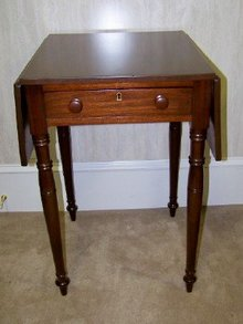 1830 Sherdian side table with two side