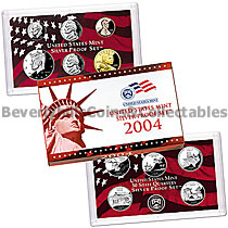 2004 Silver US Proof Set with Certificate of Authenticity
