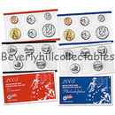 2005  US Mint Uncirculated Set  New In Box with Certificate of Authenticity 22 coins