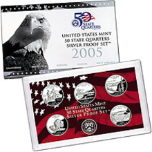 2005 SILVER STATE PROOF Set  Certificate of Authenticity New in Box