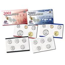 2001 US MINT SET Certificate of Authenticity New Set
