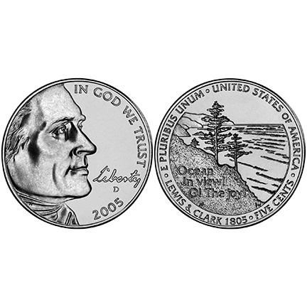 2005 Westward Journey Nickel Series Coin & Medal Set