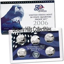 2006  50 STATE PROOF Set  Certificate of Authenticity 5 Coins