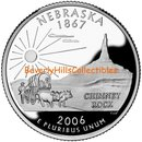 2006 NEBRASKA  50 State Quarter P and  D Set BU