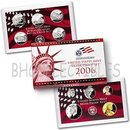 2006 SILVER PROOF Set  Certificate of Authenticity New in Box  10 coins