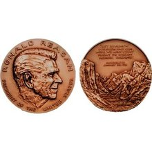 Ronald Reagan Bronze Medal  & Case