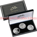 2006 American Eagle 20th Anniversary Silver Coin Set NR