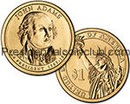 2007 Presidential John Adams Dollar coin set P & D  Position
