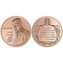 Jackie Robinson Bronze Medal 1 ½