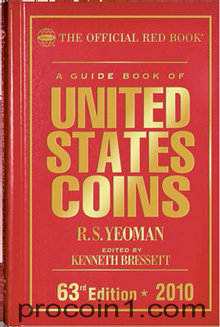 2010 Red Book A Guide Book of United States Coins Hard