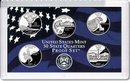 2007 US Mint Proof State Quarter 5 coin Set Mint Mark S No Box