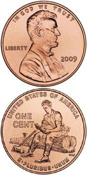 2009 Lincoln Cent Roll Denver Rail Splitter Formative Years 50 coins