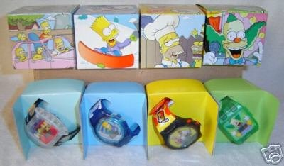 THE SIMPSONS Official BART SIMPSON TALKING WATCH