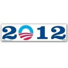 New 2012 OBAMA PRESIDENT BUMPER STICKER