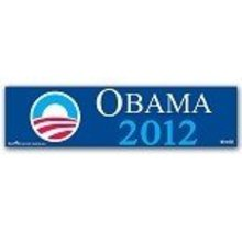 New OBAMA 2012 PRESIDENT BUMPER STICKER