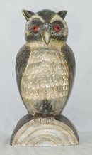 LARGE OWL DOORSTOP CAST IRON