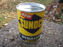 SUNOCO DYNALUBE MOTOR OIL CAN BANK